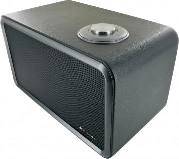 SCHWAIGER -661729- Bluetooth Stereo Lautsprecher, Schwarz