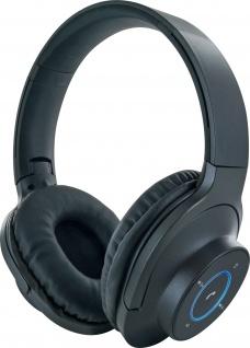 SCHWAIGER -KH220BT 513- Bluetooth® Bügelkopfhörer, Schwarz
