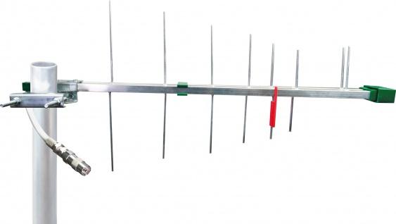 SCHWAIGER -ANT05 011- DVB-T2(T) Außenantenne (passiv), Silber