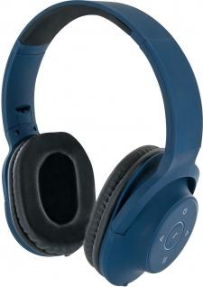 SCHWAIGER -KH220BTB 513- Bluetooth® Bügelkopfhörer, Blau