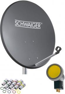 SCHWAIGER -715873- SAT Anlage aus Aluminium, Anthrazit