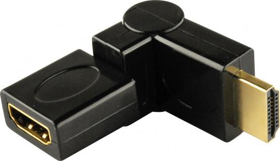 SCHWAIGER -HDMW360 533- 360° HDMI®-Adapter HDMI®-Stecker > HDMI®-Buchse