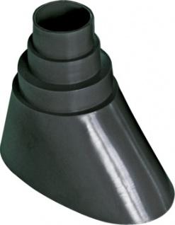 SCHWAIGER -PDM60 543- PVC Mastmanschette (Ø 42 - 60 mm), Schwarz