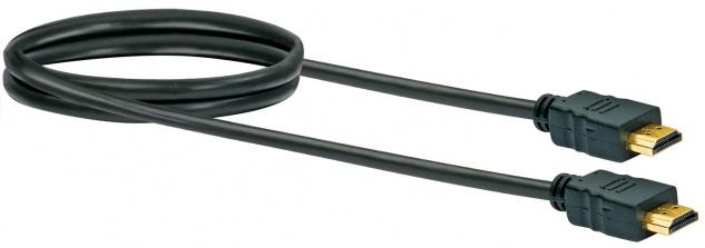 Schwaiger -hdm0070 043- High-speed-hdmi-kabel Mit Ethernet Hdmi-stecker Zu Hdmi-stecker, Schwarz - Vorschau 2