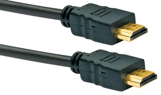 Schwaiger -hdm0070 043- High-speed-hdmi-kabel Mit Ethernet Hdmi-stecker Zu Hdmi-stecker, Schwarz - Vorschau 3