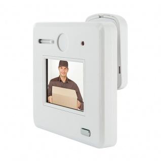 SCHWAIGER -TS100 532- Digitaler und optischer Türspion mit HD Bild, kabellos