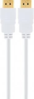 Schwaiger -hdm30 532- High-speed-hdmi-kabel Mit Ethernet, Weiß - Vorschau 3