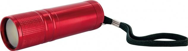 SCHWAIGER -TLED200R 531- LED Taschenlampe, Rot