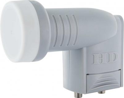 SCHWAIGER -LNB2- Digitales Twin LNB mit Wetterschutzabdeckung, Anthrazit