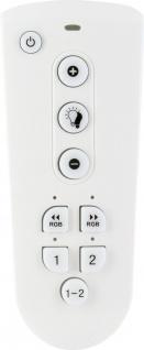 SCHWAIGER -ZHF02- Funkfernbedienung für LED Leuchtmittel, Smart Home, weiß