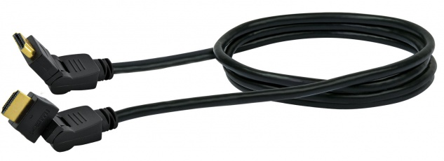 SCHWAIGER -HDMS360S 533- High-Speed-HDMI-Kabel mit Ethernet, Schwarz
