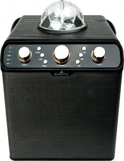 SCHWAIGER -661675- Bluetooth Party Lautsprecher, Schwarz