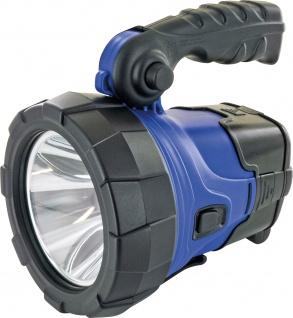 SCHWAIGER -661590- LED Arbeitsstrahler, Blau/Schwarz