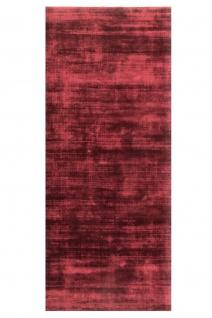 Teppich Morgenland Viskose Rund Kurzflor Einfarbig Uni Läufer Weich Glänzend