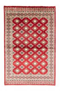 Pakistan Teppich - 181 x 125 cm - rot