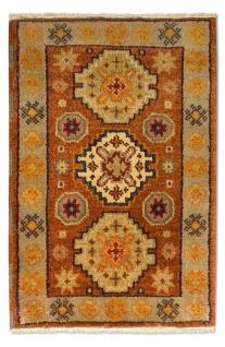 Orientteppich - 90 x 60 cm - rost