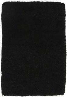 Hochflor Teppich Handgearbeitet Schurwolle Einfarbig Designer Modern Flauschig