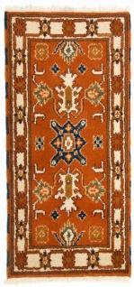 Orientteppich - 126 x 62 cm - rost