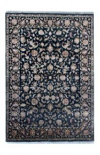 Designer Teppich - 336 x 243 cm - blau