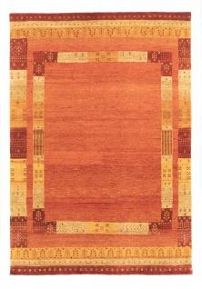 Gabbeh Teppich - Loribaft - 207 x 140 cm - orange