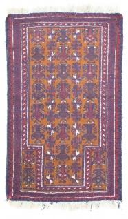 Belutsch Teppich - 138 x 85 cm - orange