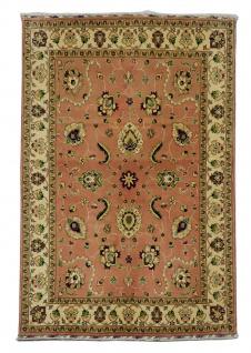 Orientteppich - 192 x 151 cm - rost