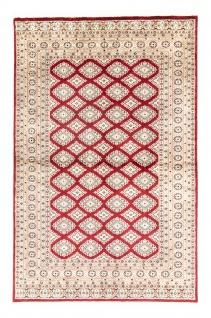 Pakistan Teppich - 198 x 136 cm - rot