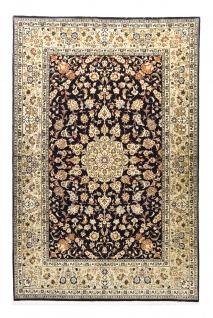 Perserteppich - Keshan - 240 x 161 cm - dunkelblau