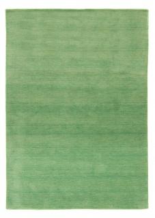 Teppich Morgenland Gabbeh Natur Weich Wolle Einfarbig Uni Handarbeit Wohnzimmer