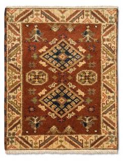 Orientteppich - 91 x 65 cm - rost