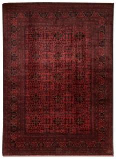 Afghan Teppich - Kunduz - 300 x 200 cm - rot