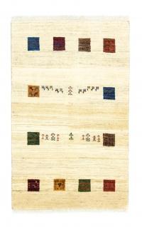 Gabbeh Teppich - Loribaft Persian - 130 x 81 cm - mehrfarbig