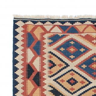 Morgenland Kelim Teppich - Oriental - 174 x 124 cm - mehrfarbig - Vorschau 3