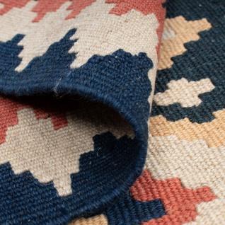 Morgenland Kelim Teppich - Oriental - 174 x 124 cm - mehrfarbig - Vorschau 4