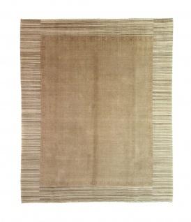 Gabbeh Teppich - Loribaft Softy - 297 x 249 cm - braun