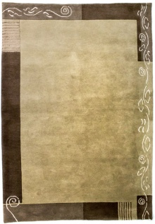 Nepal Teppich - 202 x 145 cm - mehrfarbig