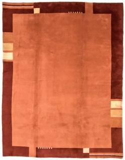 Nepal Teppich - 335 x 246 cm - terrakotta