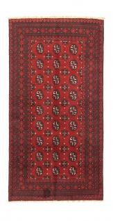 Afghan Teppich - Filpa - 191 x 100 cm - rot