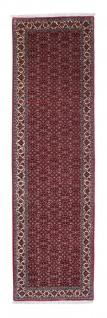 Morgenland Läufer Bidjar - 302 x 81 cm - rot