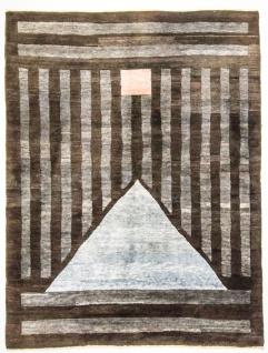 Nepal Teppich - 232 x 175 cm - mehrfarbig