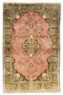 Seidenteppich - Kayseri - 169 x 105 cm - pink