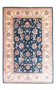 Ziegler Teppich - 258 x 173 cm - blau