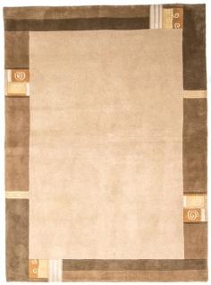 Nepal Teppich - 236 x 172 cm - beige