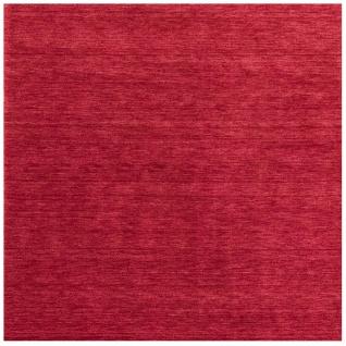 Teppich Morgenland Gabbeh Quadrat Wolle Einfarbig Uni Handarbeit Wohnzimmer Kurz