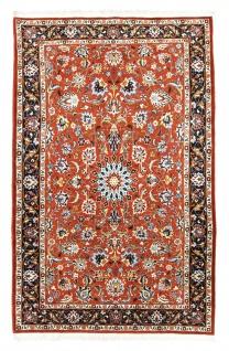 Perserteppich - Täbriz - 226 x 141 cm - rost