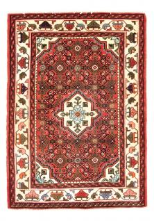 Perserteppich - Nomadic - 146 x 105 cm - rost