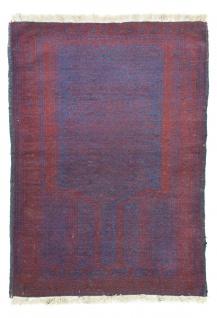 Belutsch Teppich - 138 x 82 cm - blau