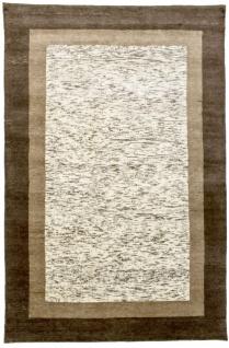 Gabbeh Teppich - Loribaft - 207 x 141 cm - beige