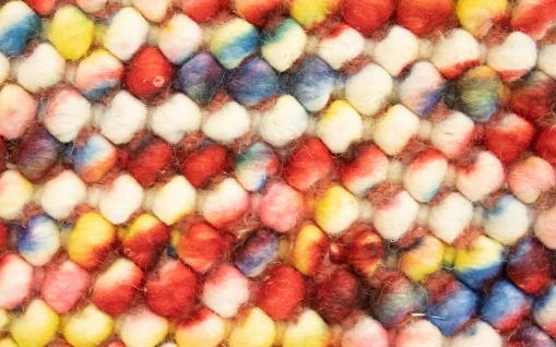 Filzkugelteppich - 61 x 31 cm - bunt - Vorschau 2