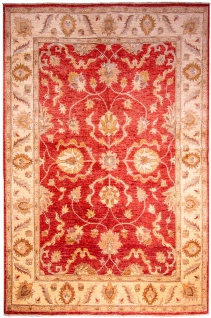 Ziegler Teppich - 253 x 178 cm - rot